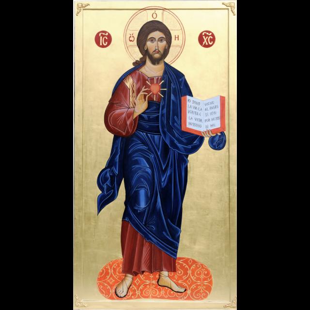 L'icona del Sacro Cuore