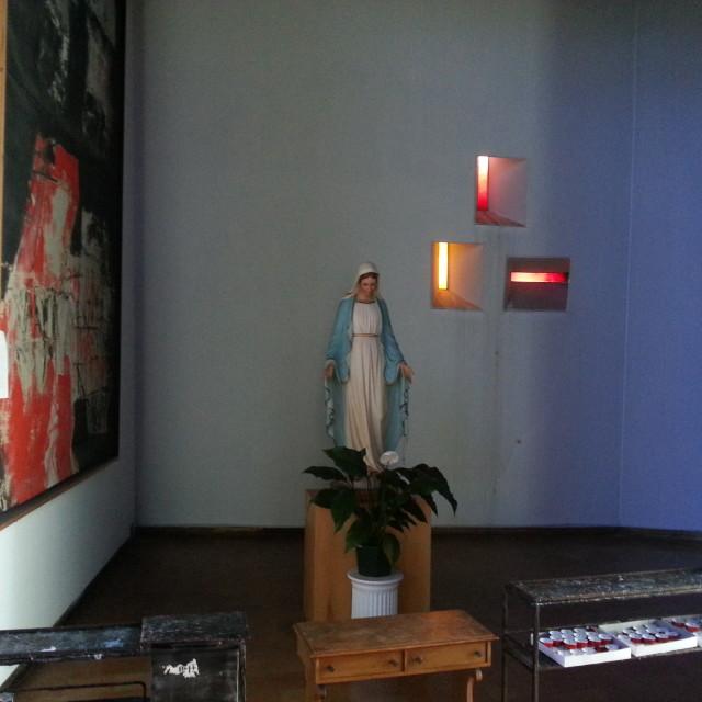 La cappella della Madonna in Chiesa
