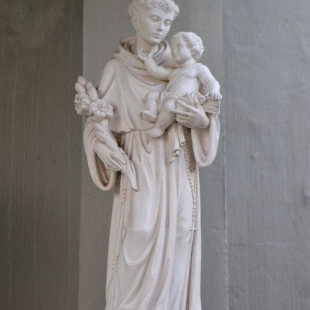 Sant'Antonio all'ingresso della Cripta